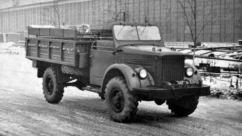 ГАЗ-63АВ Опытный '1954