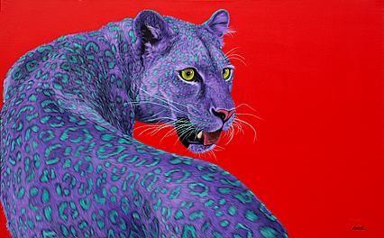 Гельмут КОЛЛЕР - Леопард на красный