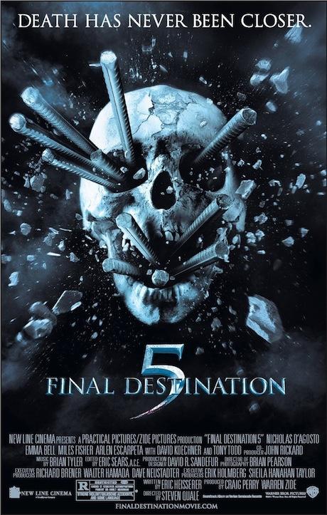 Bulan ini Nexmedia muterin film serem dan thriller nih... jangan lewatin nanti malem ada Final Destination 5 jam 21.00wib di HBO Channel #NexMovie