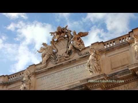 ▶ Trevi Fountain, Rome, Italy