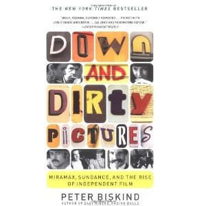 """""""Down and Dirty Pictures: Miramax, Sundance, and the Rise of Independent Film"""" by Peter Biskind. I have been reading this book lately and find it fascinating to read about the subject. Though Biskind's writing style is down right confusing and kind of ridiculous, the book is still fun to read. Recommended for a curious reader."""