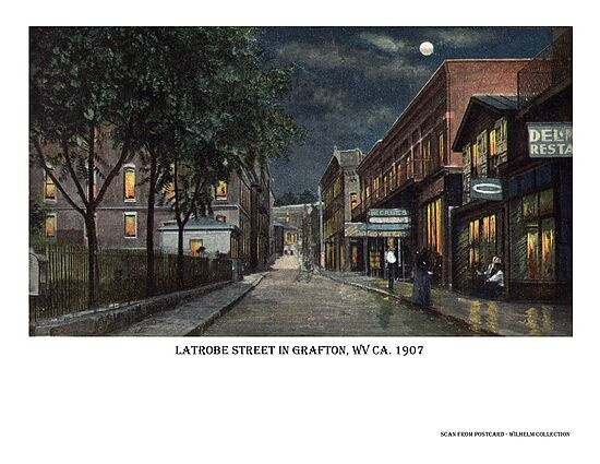 Latrobe St In Grafton Wv Ca 1907 Klepful S Military Mania Can Be Seen As