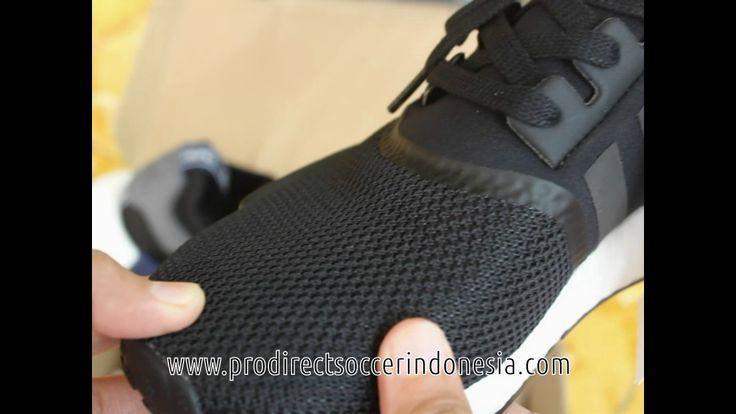 Sepatu Sneakers Adidas NMD RI Black S766841 Original