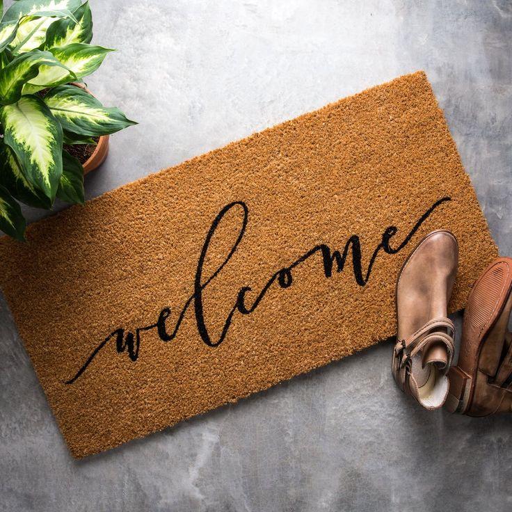 Magnolia Doormat & Best 25+ Doormats ideas only on Pinterest   Farmhouse doormats ... Pezcame.Com