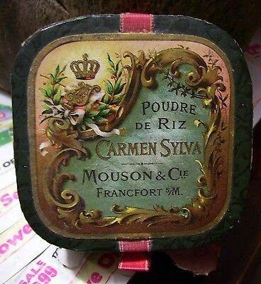 Poederdoos van Mouson Gepint vanaf postrex.com