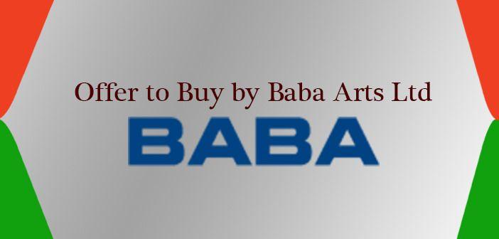 https://flic.kr/p/JLccVh | Offer to Buy by Baba Arts Ltd | www.moneydial.com/offer-buy-baba-arts-ltd/