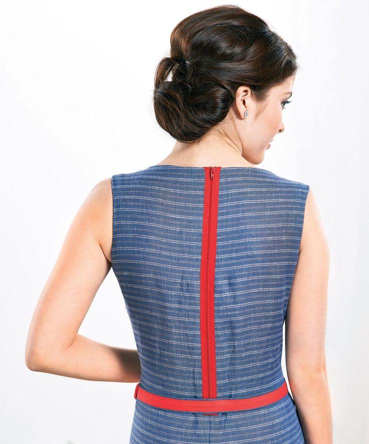 Free Pattern Breton Dress Waist Synching Belt and Casual Tunics