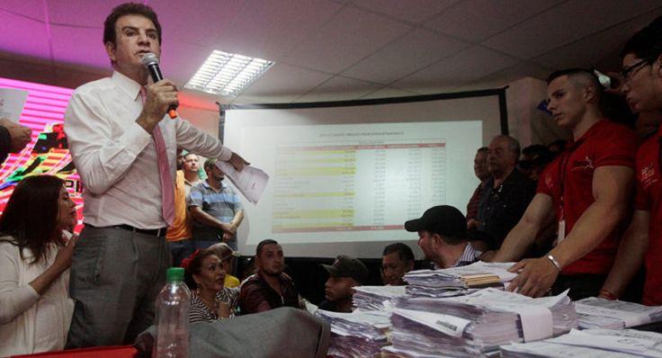 "Candidato opositor hondureño llama a ""manifestación pacífica"" contra ""fraude"" electoral"