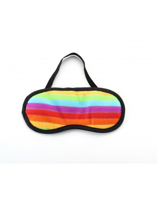 Deluxe Rainbow Eye Mask