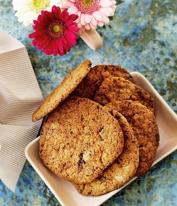 Cookies med Daim og peanuts