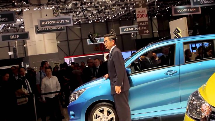 Launch of the Suzuki Celerio at the Geneva Motor Show 2014
