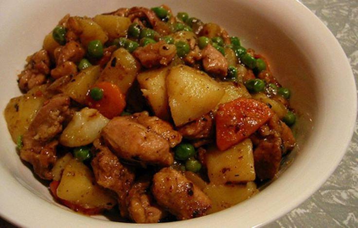 Cazuela de Pollo :http://www.recetasjudias.com/cazuela-de-pollo/