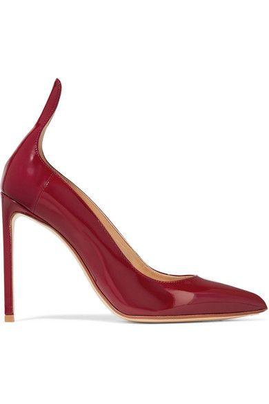 FRANCESCO RUSSO Patent-leather pumps. #francescorusso #shoes #pumps