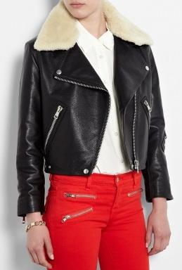 Black Rita Leather Jacket by AcneFashion Style, Clothing, Latest Design, Rita Leather, Black Rita, Design Fashion, Acne Studios, Leather Jackets, Jackets Coats