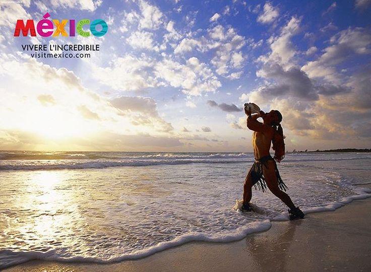 Playa Marona Messico splendida spiaggia di sabbia bianca.