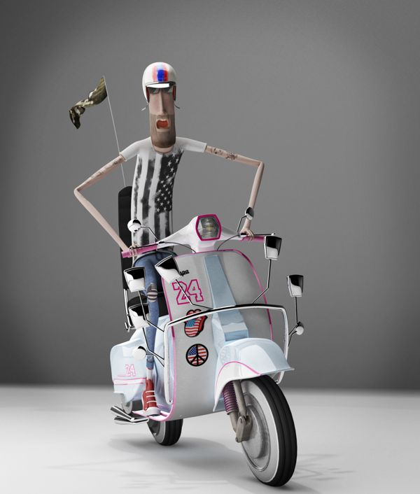 3D CHARACTER DESIGN by Eduardo Medina, via Behance ★ Find more at http://www.pinterest.com/competing/