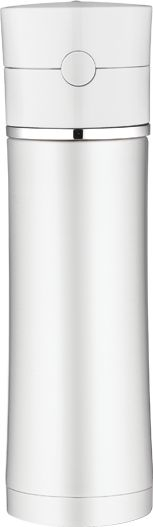 Vacuum Insulated Hydration Bottle with White Lid   Thermos®