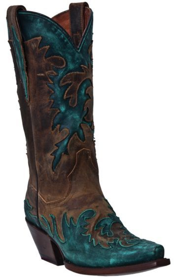 Dan Post Amy Wingtip Cowgirl Boots - Snip Toe - Sheplers