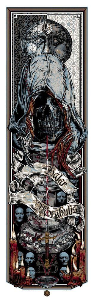 Valar Morghulis (God Of Death) by Rhys Cooper