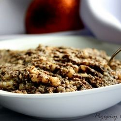 Kutia is a traditional Ukrainian Christmas dessert.  Traditionally it was made of wheatberries, poppy seeds, honey (or sugar), various nuts and sometimes raisins. In many recipes milk or cream is also used.