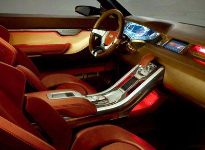 Car Interior Design Burgundy More