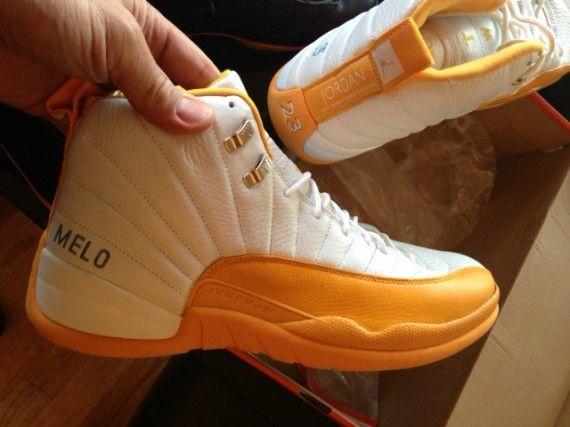 san francisco 7de31 46a4e ... Air Jordan XII - Carmelo Anthony ...