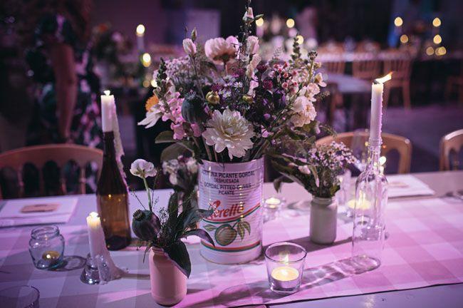 Charming Wedding centerpieces