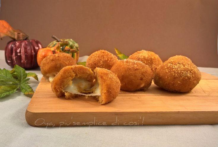 Polpette di zucca, ricetta semplice. http://blog.giallozafferano.it/oya/polpette-di-zucca-ricetta-semplice/
