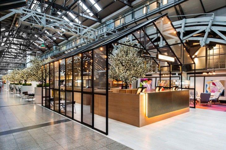 Best 25 mall kiosk ideas on pinterest kiosk design e for Top hospitality architecture firms