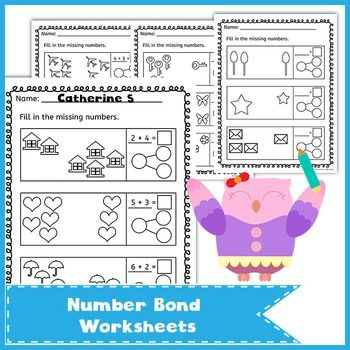 17 Best ideas about Number Bonds Worksheets on Pinterest | Number ...