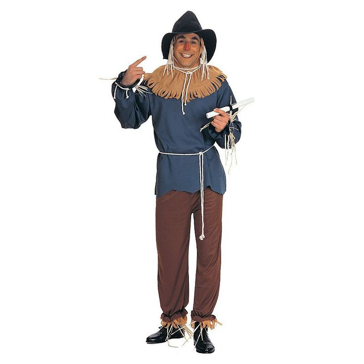 Plus Size The Wizard of Oz Scarecrow Costume - Adult Plus, Size: 1XL, Multicolor