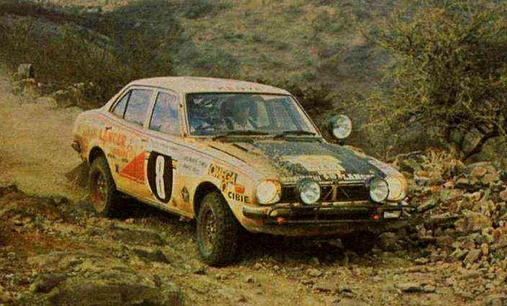 1976 Safari Rally (Singh Joginder - Doig David) Mitsubishi Lancer