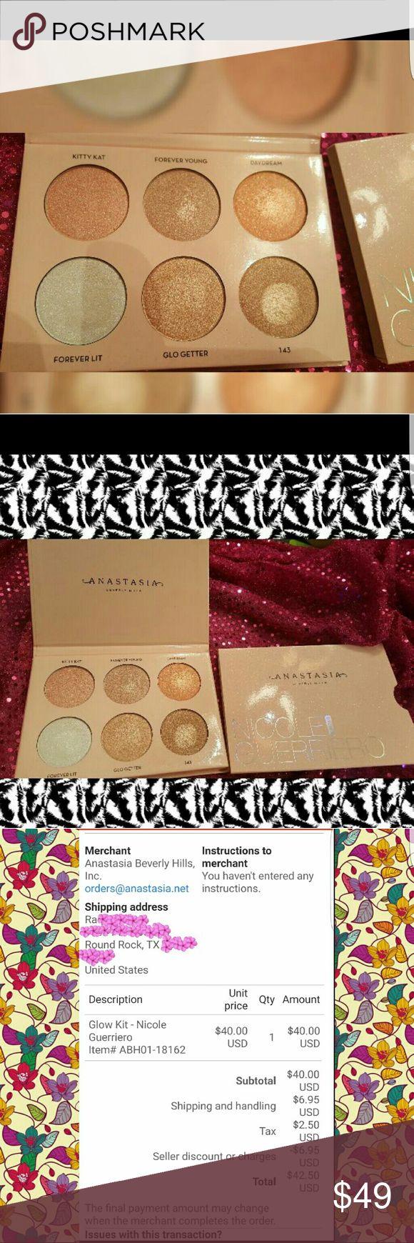 Selling This �❌sold❌❌anastasia Nicole Guerriero Highlight Kit♡ On Poshmark!