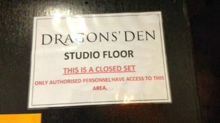 Dragons Den - marketing, product development and placement