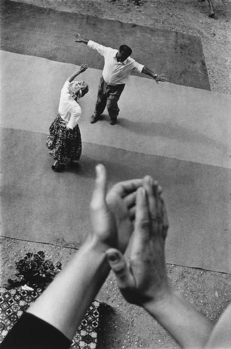 Dancing in the Street- Henri Cartier-Bresson.