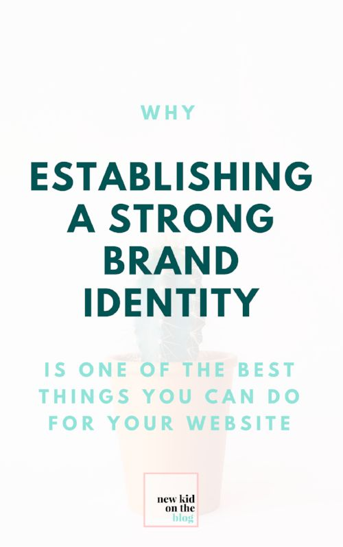 But why invest in learning about branding, anyway? Since starting my own blog, I've learned that so much about success in the blogging world depends on phychology. That first impression your blog makes is so important!