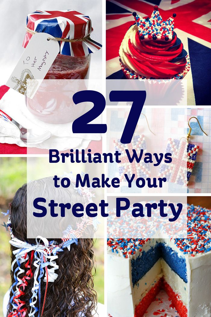 It's not long until the Queen's birthday... and in preparation, we're thinking about all the fab street party ideas we could put to use. Take a look at our top picks for a patriotic street party for Liz!
