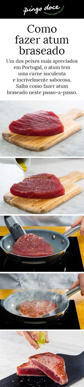 Fazer atum braseado é uma tarefa fácil mas que tem alguns truques. Neste passo-a-passo mostramos como se faz.