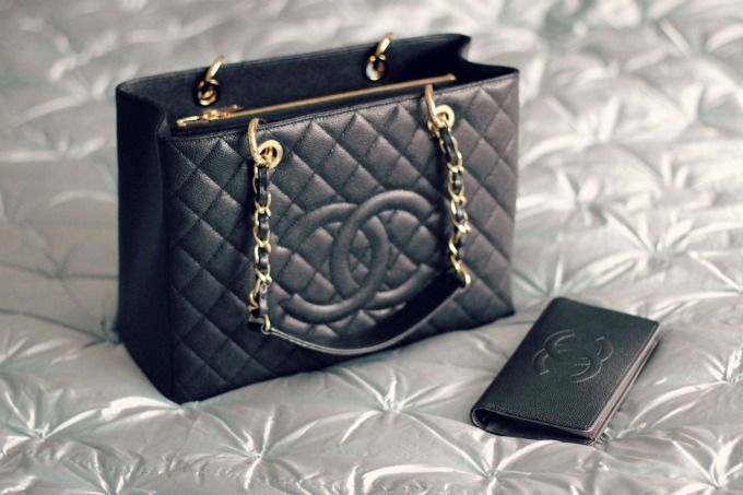 My next purchase. Chanel tote bag with the wallet.