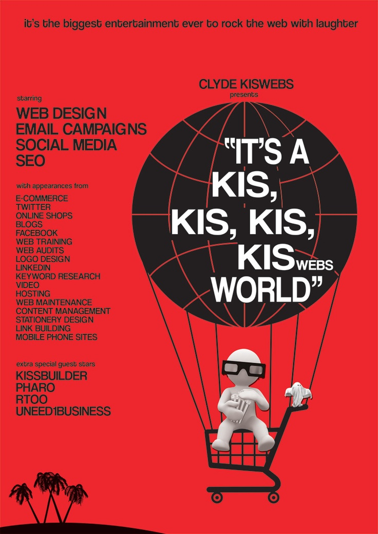 Its a Kis Kis Kis Kiswebs World - let the madness begin.