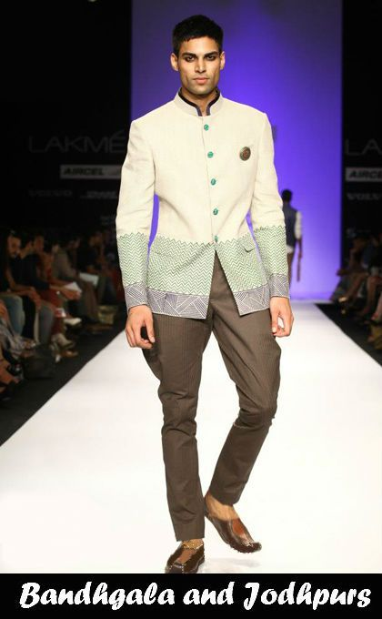 The bandhgala neckline and jodhpurs (also known as jodhpur trousers) are hallmarks of Indian royalty. Both have made a major comeback in menswear this season. For your next formal outing, wear a plain velvet bandhgala jacket with jodhpurs in a contrasting colour. Restrict the embellishment to the collar for a minimalist, modern update. Since jodhpurs are essentially horse riding trousers, they are also perfect for imbibing the trending equestrian theme.