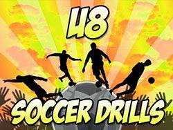 Fast And Fun U8 Soccer Drills! www.bestsportresources.com/quick-and-fun-u8-soccer-skills/ #soccer #U8 # drills