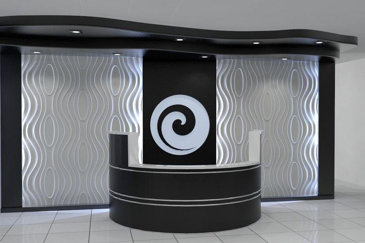 Reception Area #Design Idea (Monroe panel) more #interiordesigns on: http://www.dunes.pl/galerie-zdjec.php