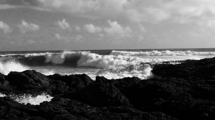 90Miles#Beach#BW#Waves