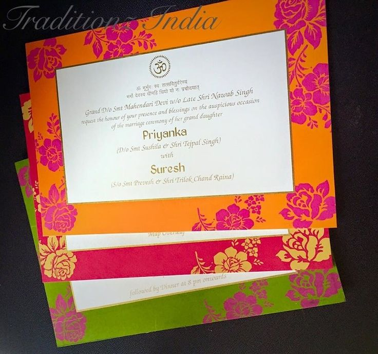 Traditionz India 12 best wedding cards images