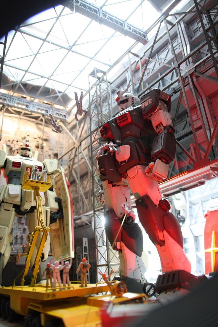 1/60 Diorama: No.2 PG RX-78-2 Gundam (Remodeled) in Maintenance