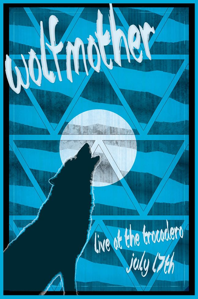 Wolfmother Gig Poster