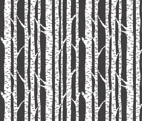 birch fabric by holli_zollinger on Spoonflower - custom fabric