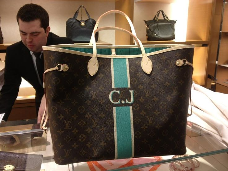 I can now mix my love for Tiffany Blue, Monograms,  and Louis Vuitton...might be my next purchase!!! Personalized/ Mon Monogram Club - Page 252 - PurseForum