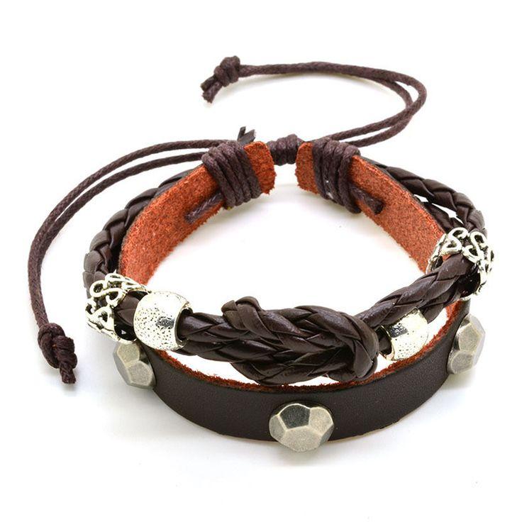Cheap bracelet glow, Buy Quality bracelet military directly from China bracelet brooch Suppliers:               2015 New Fashion Vintage Cow Leather Bracelets & Bangles Metal Cross Jesus Charm Bracelet Adju